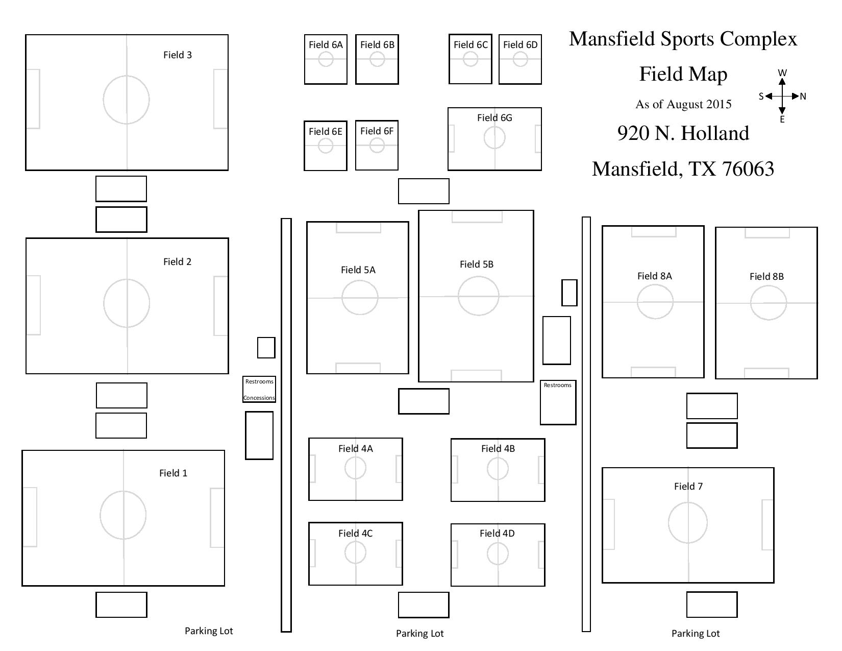 Mansfield sports complex mansfield soccer association sports complex layout fall 2015 malvernweather Gallery